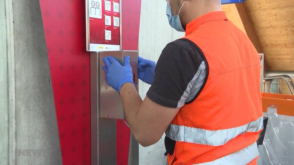 Auf Putz-Tour im Corona-Hochsommer: SBB verdreifacht Reinigungsmassnahmen