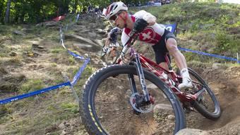 Bereits 2019 wurden die Schweizer Meistertitel im Cross-Country in Gränichen vergeben, Nino Schurter triumphierte.