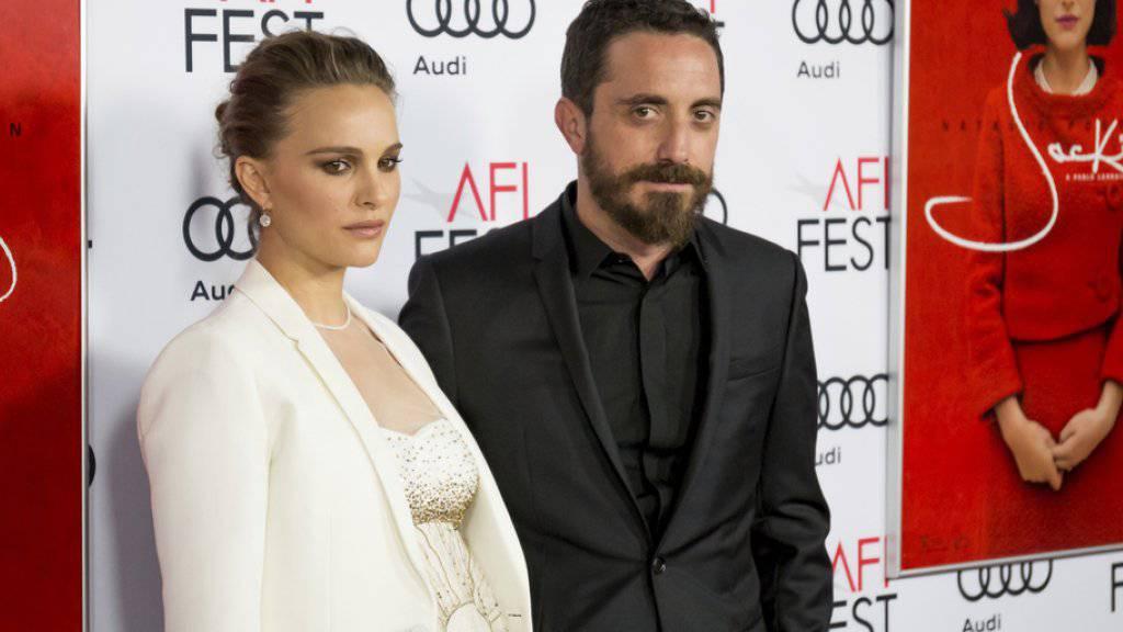 """Zeigen im ersten """"Jackie""""-Trailer die Ergebnisse ihrer Zusammenarbeit: Regisseur Pablo Larrain und Natalie Portman. (Archivbild)"""