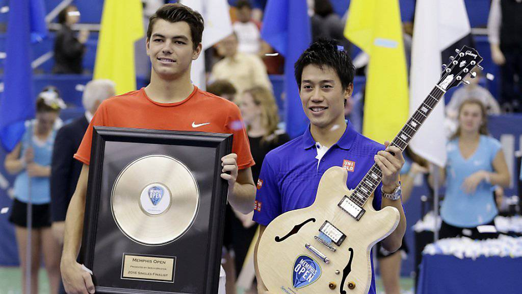 Sowohl Kei Nishikori als auch Taylor Fritz fühlten sich als Sieger