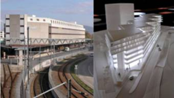 Das Transitlager auf dem Dreispitz-Areal heute und in Zukunft