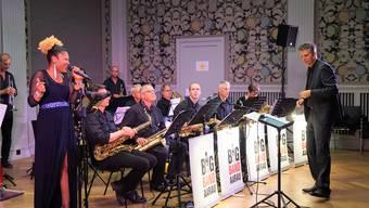 Die Big Band Aarau lud für ihr Konzert im Pestalozzi eine erfolgreiche Sängerin mit bewegter Vergangenheit ein.