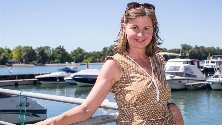 Sollte Martina Bernasconi Regierungspräsidentin werden, hat sie auch mit den Nachbarn in Weil (D) und den Franzosen von der anderen Rheinseite zu tun.