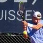 Jérôme Kym ist eine der grössten Schweizer Tennishoffnungen und ist in Basel am Start.