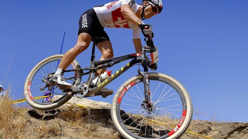 Nino Schurter führt das Schweizer Mountainbike-Team der Männer an den Olympischen Spielen in Rio an
