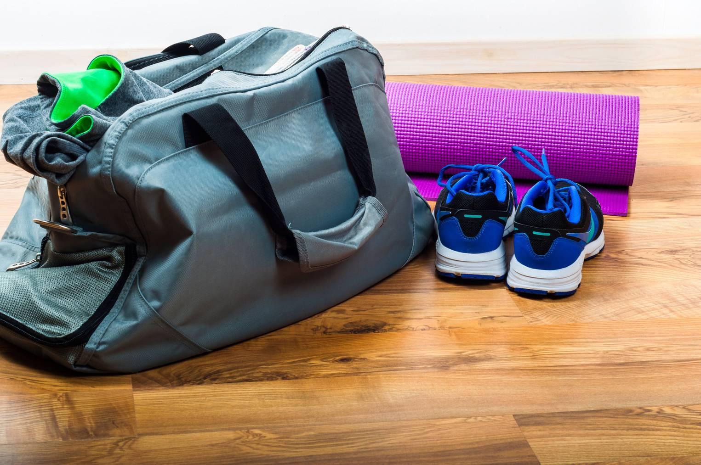 Sporttasche gleich mit zur Arbeit nehmen hilft. (Bild: iStock)