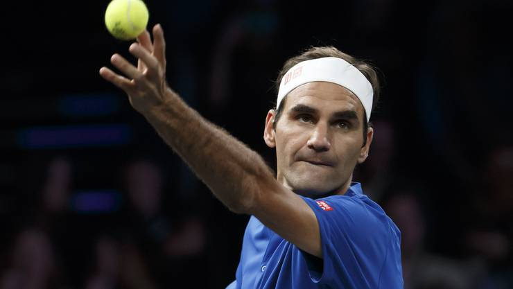 Roger Federer gewinnt gegen Nick Kyrgios.