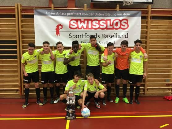 Der FC Aarau setzte sich im Endspiel gegen die Basler Old Boys durch.