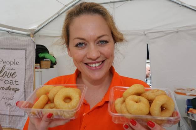 «Unser Familienunternehmen ADA Lokma ist noch ganz neu und ist heute zum ersten Mal bei einem «Street Food Festival» dabei. Wir haben unsere Premiere in Olten.»