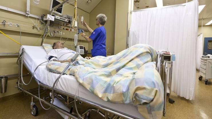 Infektionsherd Spital: Jedes Jahr sterben in Schweizer Spitälern über 2000 Personen an Infektionen, die sie dort eingefangen haben.