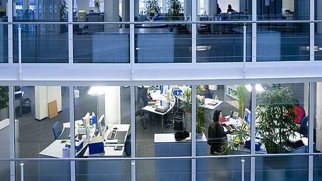 Blick auf das Bürogebäude der Krankenkasse CSS
