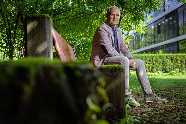 Pierluigi Tami, Direktor er Schweizer Fussball Nationalmannschaft, posiert für CH Media.