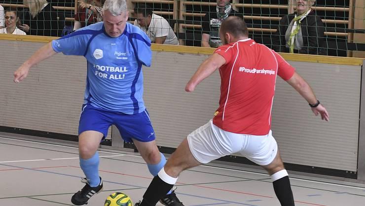 «Football for all!»: Ihr Handicap ist den Spielern kein Hindernis.