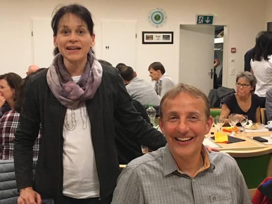 Die neuen Präsidenten der LSGO Monika u. Christian Bosshart