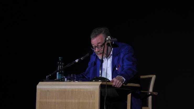 Markus Notter liest Gedichte