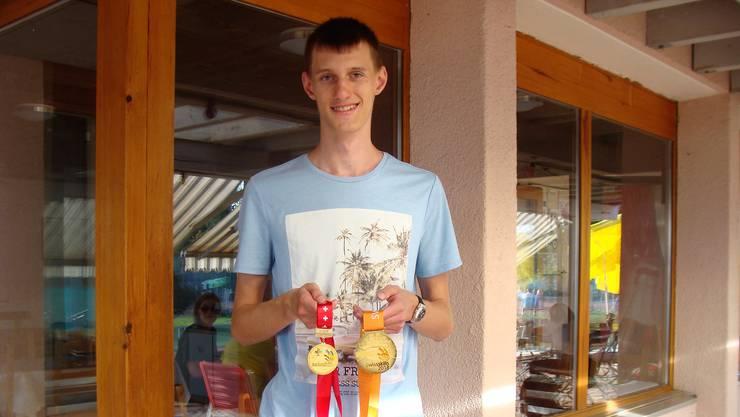 Swiss-Skills Sieger Tim Rhomberg in Urdorf