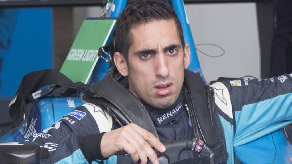 Sébastien Buemi schreibt den Formel-E-Titel definitiv ab