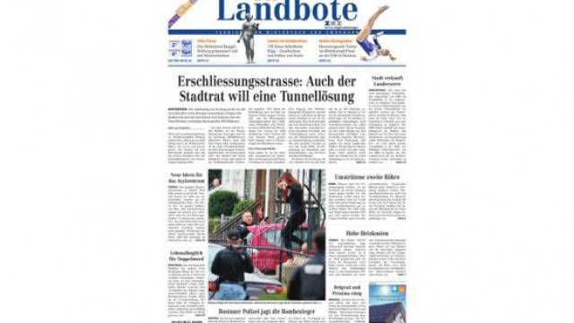 Der traditionsreiche Winterthurer «Landbote» soll verkauft werden.