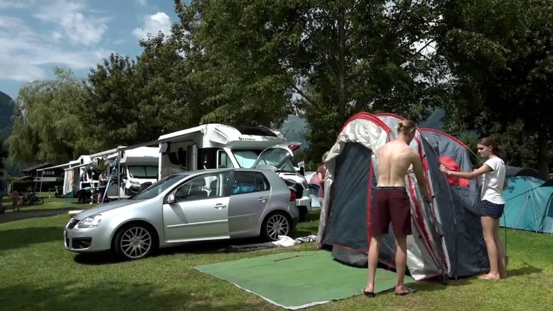 Run auf Schweizer Campingplätze wegen Corona