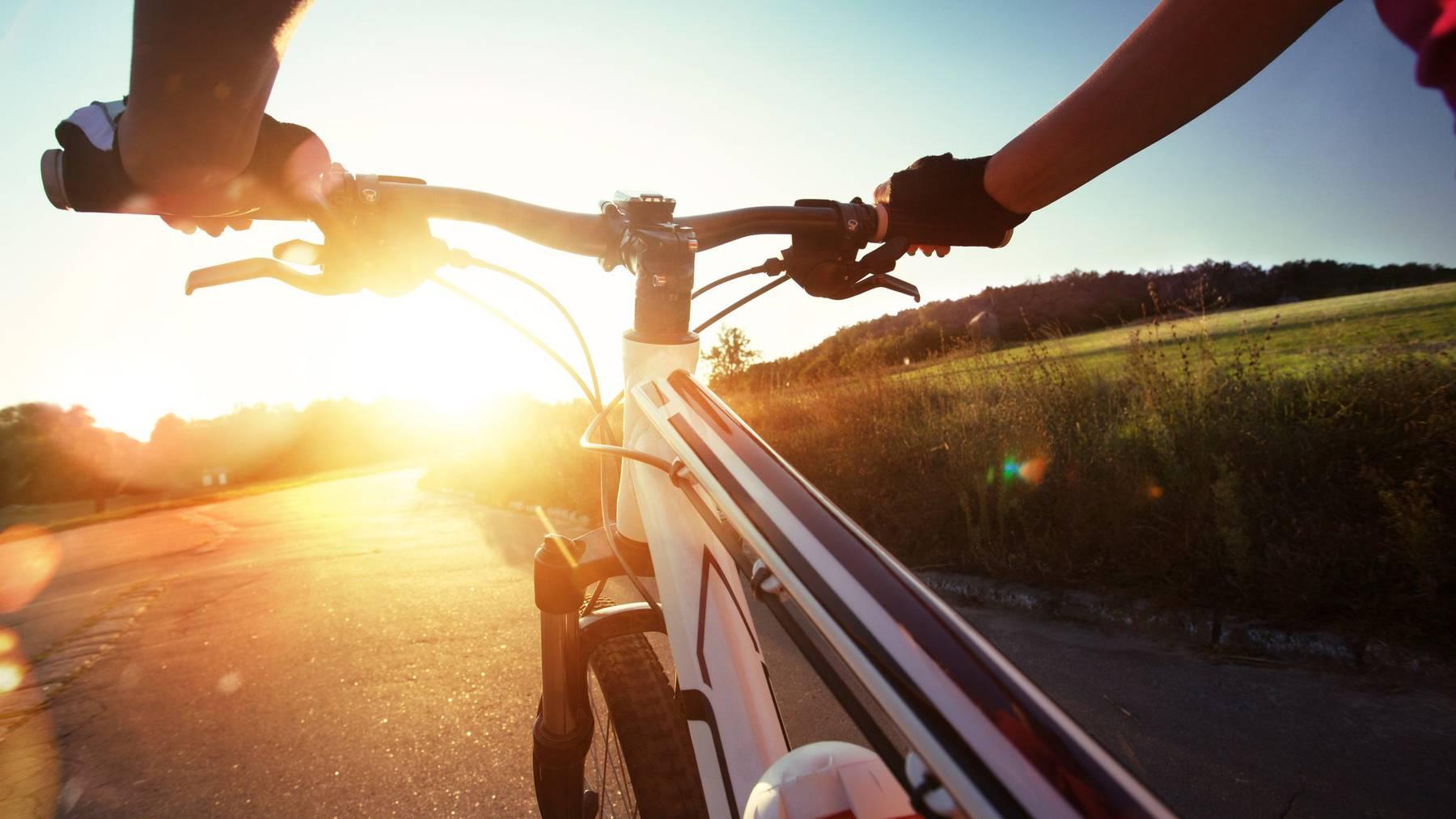 In der Freizeit fährt Dörig gerne Mountainbike.