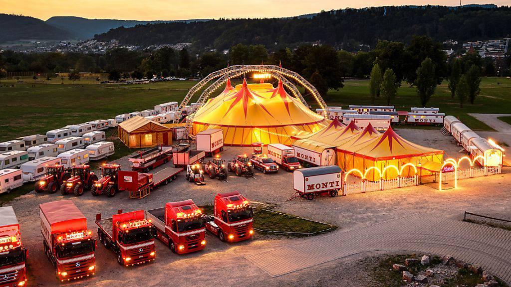 Legt dieses Jahr eine Zwangspause an: Der Circus Monti.