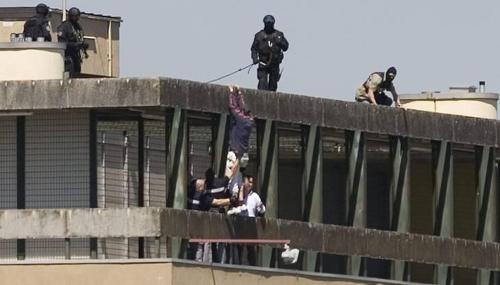 Gefängnis Orbe: Nach 24 Stunden gibt der Häftling auf.