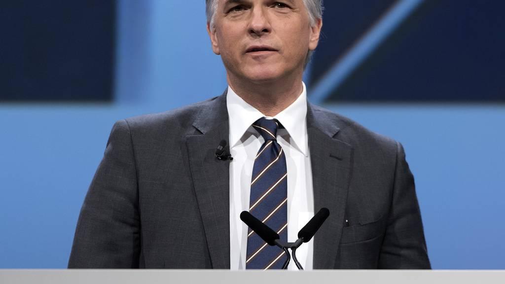 UBS-Chef Sergio Ermotti verdiente im letzten Jahr mit 13,4 Millionen Franken am meisten.