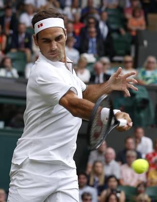 Gleich von Beginn an kann Federer überzeugen, während der Italiener nicht zu begeistern weiss.