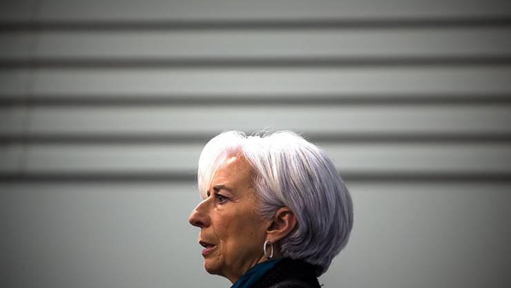IWF-Chefin Christine Lagarde wird laut ihrem Anwalt beim Prozess gegen sie Mitte Dezember anwesend sein. (Archiv)