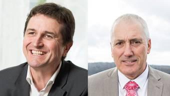 Anton Kiwic und Heinz Illi. Treten wirklich beide für das Dietiker Stadtpräsidium im zweiten Wahlgang an?