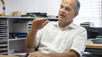 Der Ostschweizer Isidor Huber leitet als Rektor seit 2007 die Geschicke des Gymnasiums Laufen.