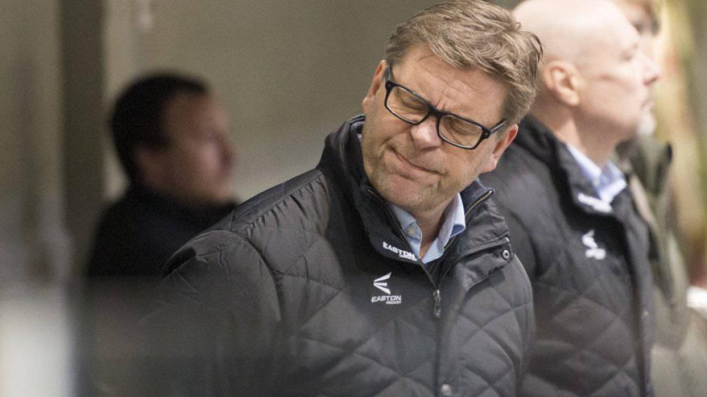 Oltens Coach Heikki Leime konnte zuletzt seiner Mannschaft fast nicht mehr zusehen