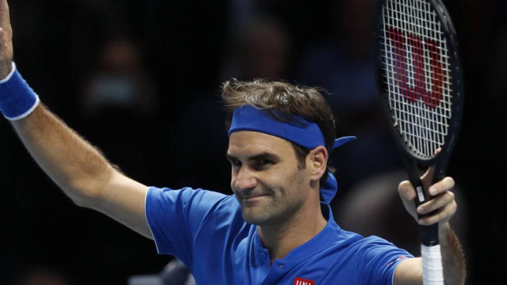 Abschied oder Vorstoss in die Halbfinals? Für Roger Federer ist heute an den ATP Finals jedes Szenario denkbar