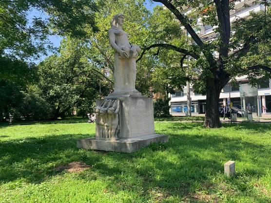 Das Grab wurde bereits am Freitag wieder entfernt.