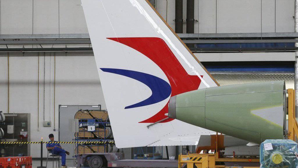 Der europäische Flugzeugbauer Airbus baut jetzt Grossraumflugzeuge in Tianjin zusammen.