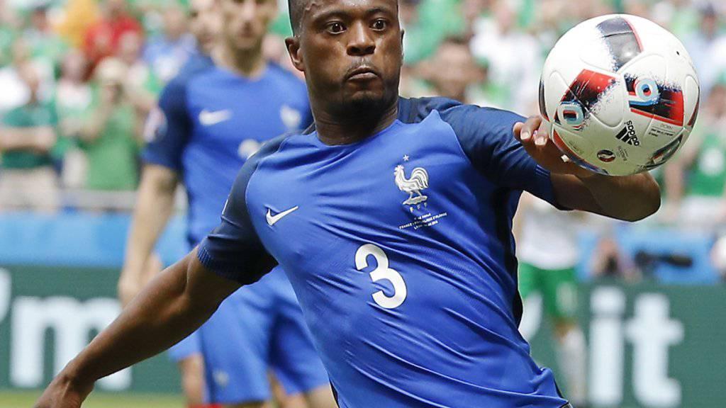 Patrice Evra kehrt nach England zurück. (Archiv)
