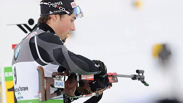 Rang 10 für die Schweizer Mixed-Staffel (im Bild Benjamin Weger)