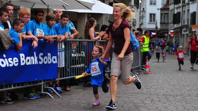 Wer hat mehr Spass am Quer durch Solothurn, Mutter oder Tochter? Hans Peter Schläfli