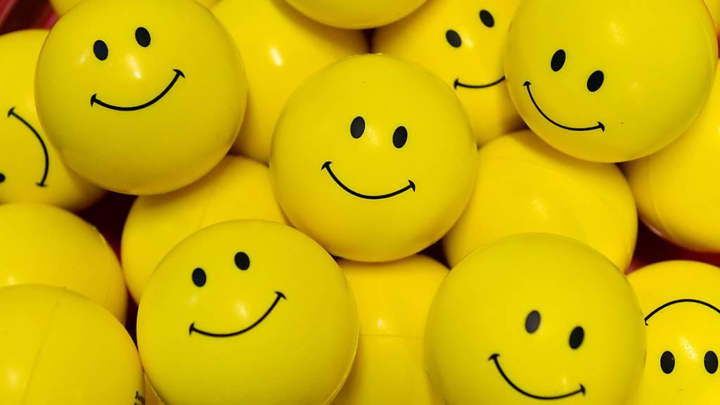Das erste digitale Smiley kommt unter den Hammer. (Symbolbild)