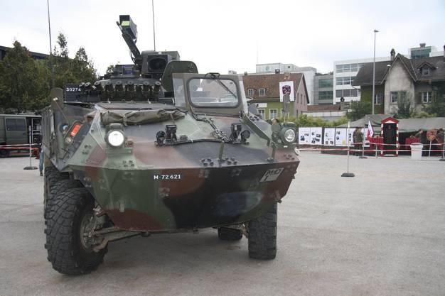 Ein Schützenpanzer