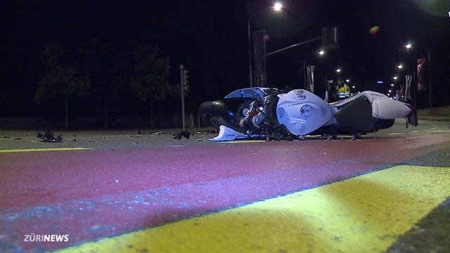 26-Jähriger stirbt bei Töffunfall in Baden