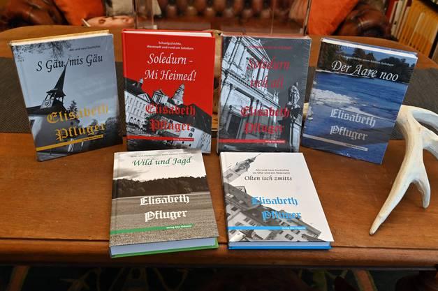 Alle Bücher mit Geschichten von Elisabeth Pfluger.