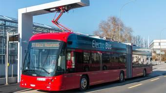 Seit Herbst 2018 sind in Bern Elektrobusse im Pilotbetrieb unterwegs.