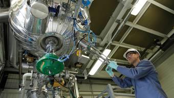 Bachem-Mitarbeiter in Bubendorf: Die Peptide der Firma sind besonders bei Biotech-Firmen gefragt. HO/Bachem