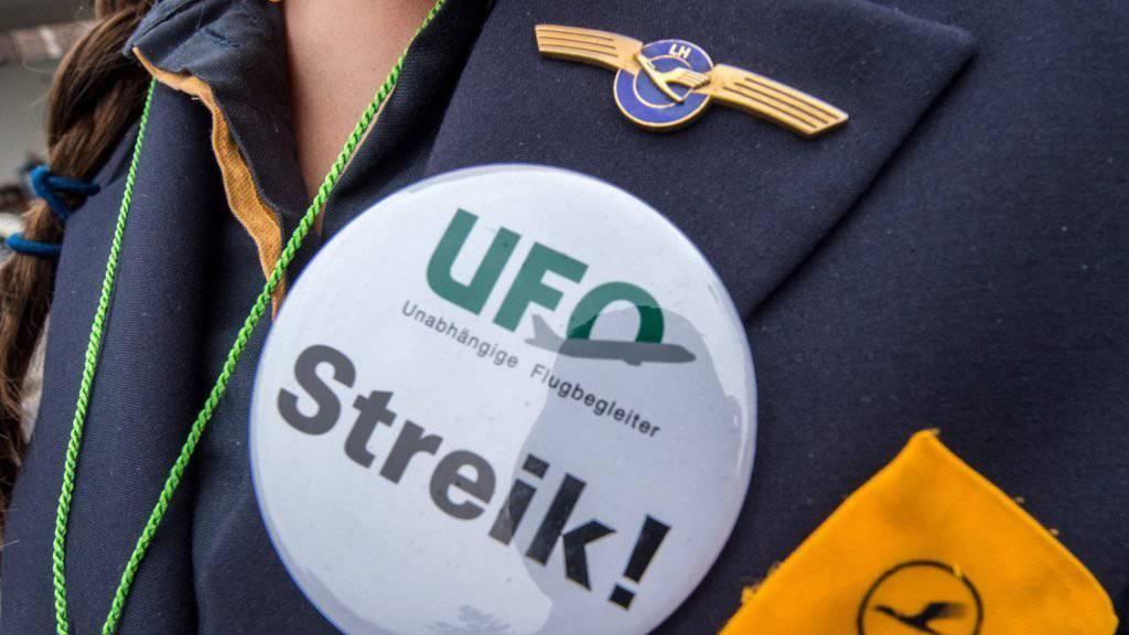 Der Streik der Flight Attendants von Lufthansa wirkte sich auf die Passagierzahlen in Frankfurt aus.