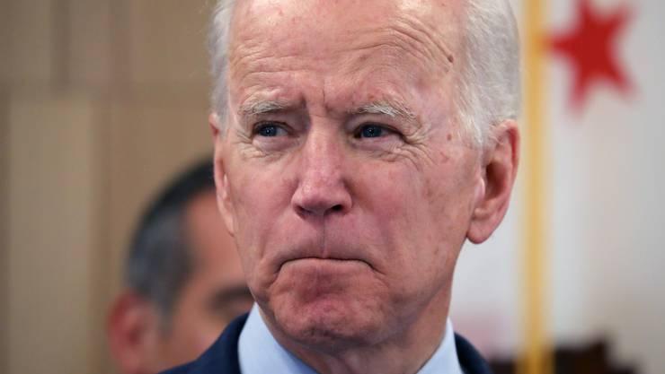 Joe Biden, 77, wäre der älteste US-Präsident der Geschichte, wenn er im November gegen Donald Trump gewinnen würde. (Bild: Keystone)