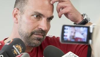 Wird mit seinem Team gegen Sassuolo definitiv nicht als Favorit starten: Luzerns Trainer Markus Babbel