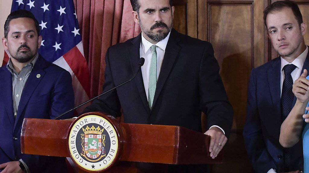 Puerto Rico vor Gouverneursrücktritt ohne Nachfolge