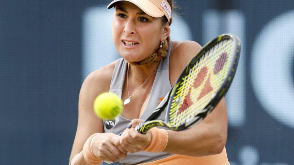 Titelverteidigerin Belinda Bencic schied in Eastbourne bereits in der 2. Runde aus