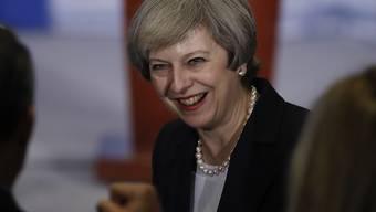 Vor ihrem Besuch beim neuen US-Präsidenten hielt die britische Premierministerin Theresa May eine Rede bei einer Retraite der Republikaner in Philadelphia.